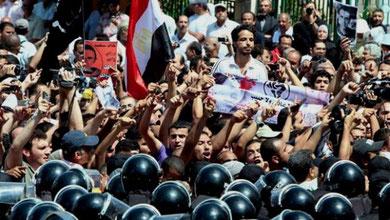 Arbejderstrejke i Cairos industribælte