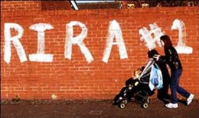 Real IRA grafitty i Belfast