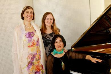 Konzert: Solistinnen: Eva-Maria Schmid - Sopran Andrea Schwab - Mezzosopran Asako Hosoki - Klavier