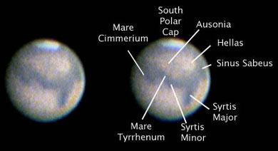 Mars 2:25 am August 6, 2003