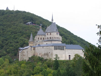 Vianden Castle in 2007