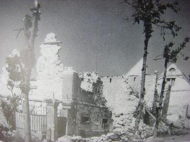 Bennwihr in ruins
