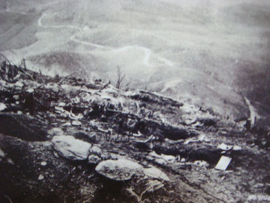 German Trenches south-east of Monticelli Ridge November 14, 1944