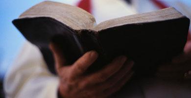 Zur Onlinebibel kommt, wer das Bild anklickt!