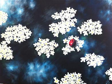 """""""entassé"""", 2012, acrylic on canvas, 60x80"""