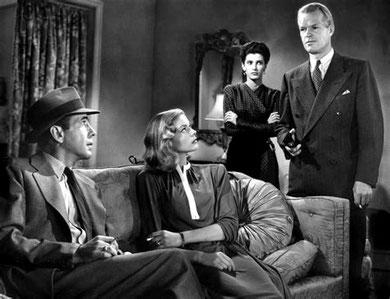 "Howard Hawks's The Big Sleep (1946): ""a thriller that charms""."