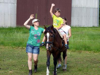Physiotherapie auf dem Pferd Stade Himmelpforten Düdenbüttel