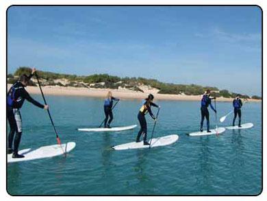 alquiler paddle surf Huelva