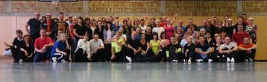 Alle Teilnehmer und Trainer des Workshop's in Schwäb.Gmünd 2014