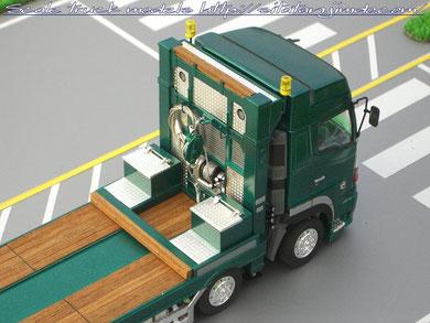 日野グランドプロフィア4軸低床セルフローダー
