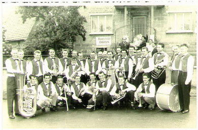 Blaskapelle Harmonie um 1959