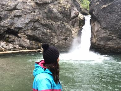 Buchenegger Wasserfälle.