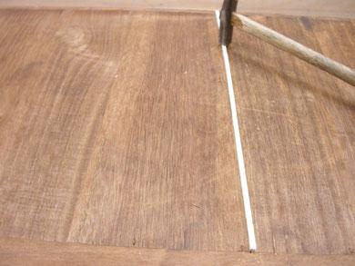 桐たんす修理背板直し2