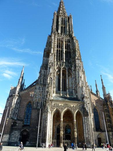 Ulmer Münster. Bauzeit 1377 - 1890