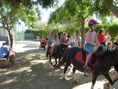 Ausflug zu Pferd auf Capo Ferrato