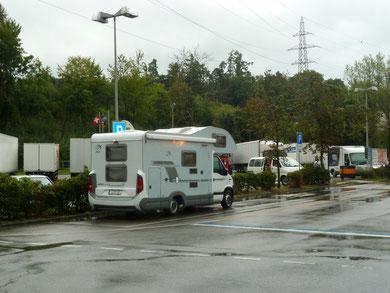 Und wieder Regen in Bern