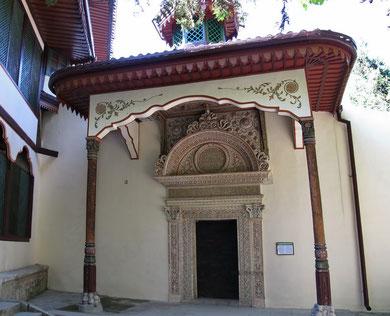 Портал Алевиза или Ворота Демир-Капу - парадный вход в ханский дворец