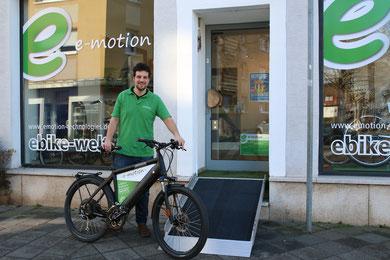 e-motion e-Bike Experten in Worms