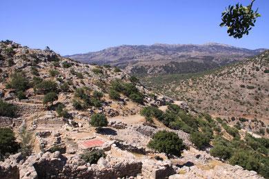 Antike dorische Stadt Lato