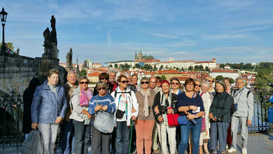 Prague avant le retour