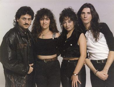 una de las primeras formaciones de los 90