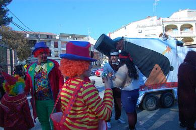 El mundo del circo tuvo su representación.