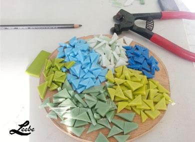 Herramientas para realizar un mosaico
