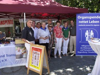 Tag der Organspende in Straubing