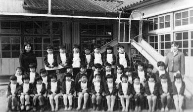 昭和30年頃の善隣幼稚園