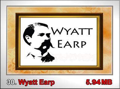 30.Wyatt Earp