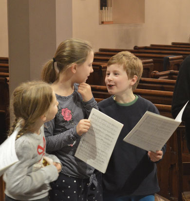 Preparing for Nine Lessons and Carols, 2012