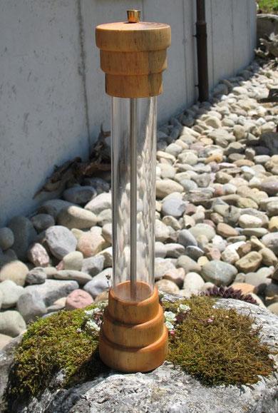 Acryl - Holz Pfeffermühle