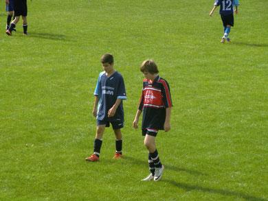 Alessandro Scialpi (links) und sein Team verloren knapp mit 0:1