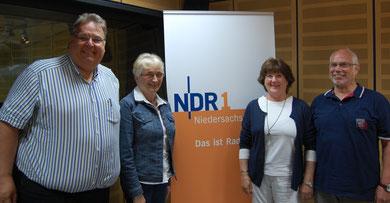 v.l. Michael Thürnau, Heide Schmelzle, Doris Kuntz, Manfred Jucks