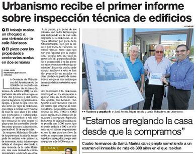 Diario Córdoba. Fuimos los primeros y seguimos mejorando.