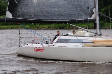 """Uijuijui"" überholt segelnd"