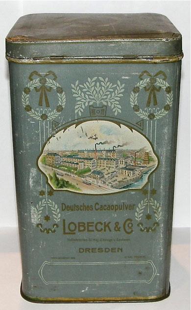 LOBECK Dresden Deutsches CACAOPULVER 2