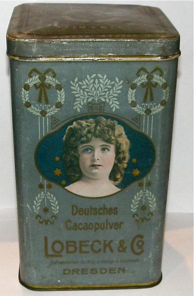 LOBECK Dresden Deutsches CACAOPULVER