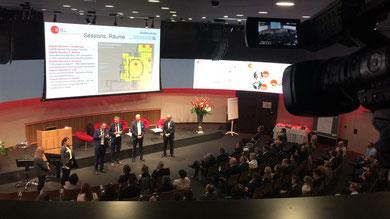 Gute Aussichten am Event der Schweizer Kader Organisation SKO