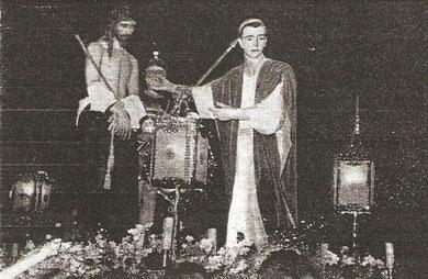 Grupo actual del Stmo. Ecce-Homo, 1954