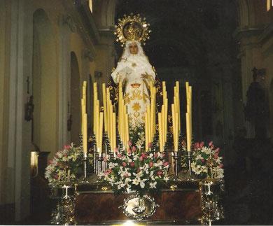 Nuevo trono Hermanos Martínez Vicente, 1996