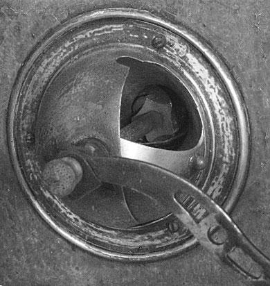 Un moulin à café mécanique
