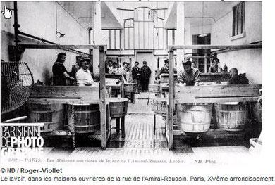 Un lavoir de Paris