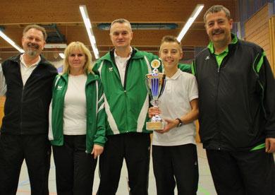 Reiner, Gabi, Klaus, Tim und Karsten (v.l.)