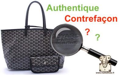 recognize fake counterfeit Goyard bag 10 secret Paris France