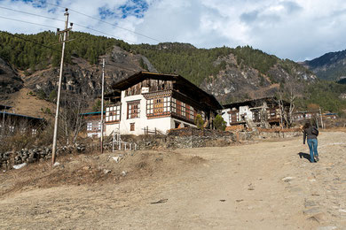 Bauernhof im Haa-Tal