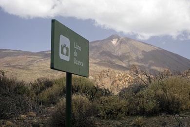 Llano de Ucanca, auch ein beliebter Foto-Stopp