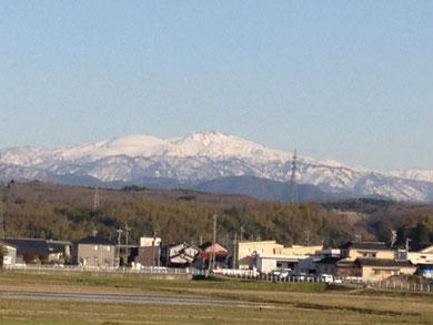 4月2日 小松市本江町付近から・・・