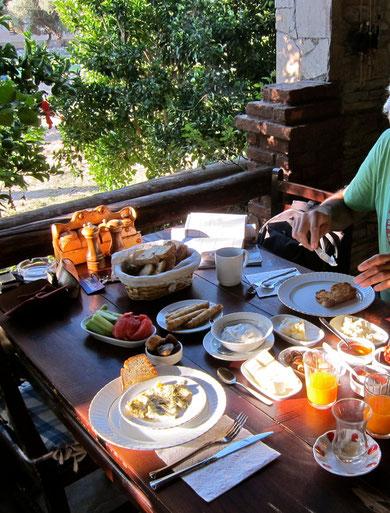 Frühstück Agora Pansiyon