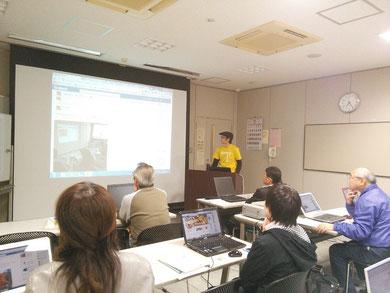 飯田市のホームページ&SNS講座風景
